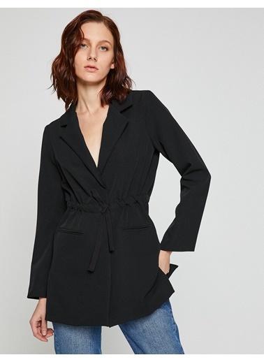 Beli Bağlamalı Ceket